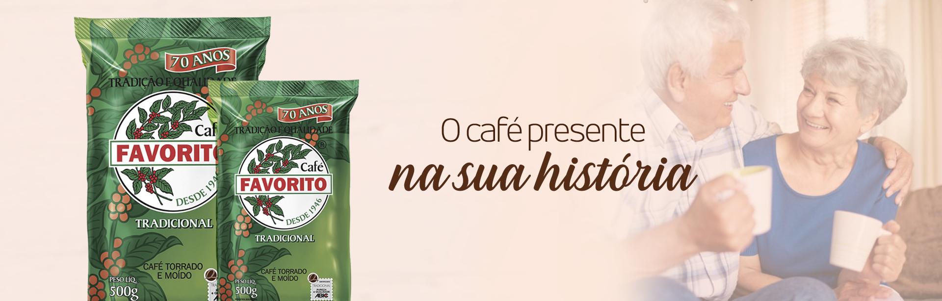 O Café presente na sua história